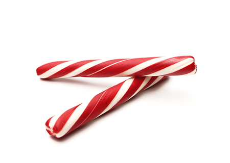 Peppermint Stick   Madagascan vanilla bean base flavored with natural peppermint extract and crushed peppermint candies.   (NF, GF)
