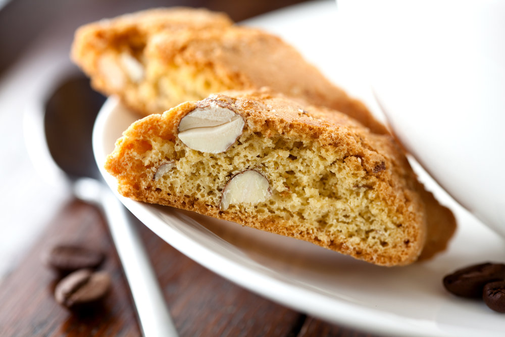 Italian Biscotti Cookie - The classic sweet Italian biscotti, crunchy & delicious!