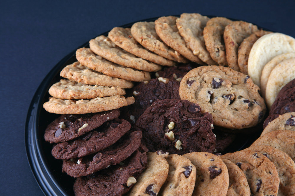 Assorted Cookies - A classic favorite!Chocolate chip, Macadamia Nut, Oatmeal Raisin
