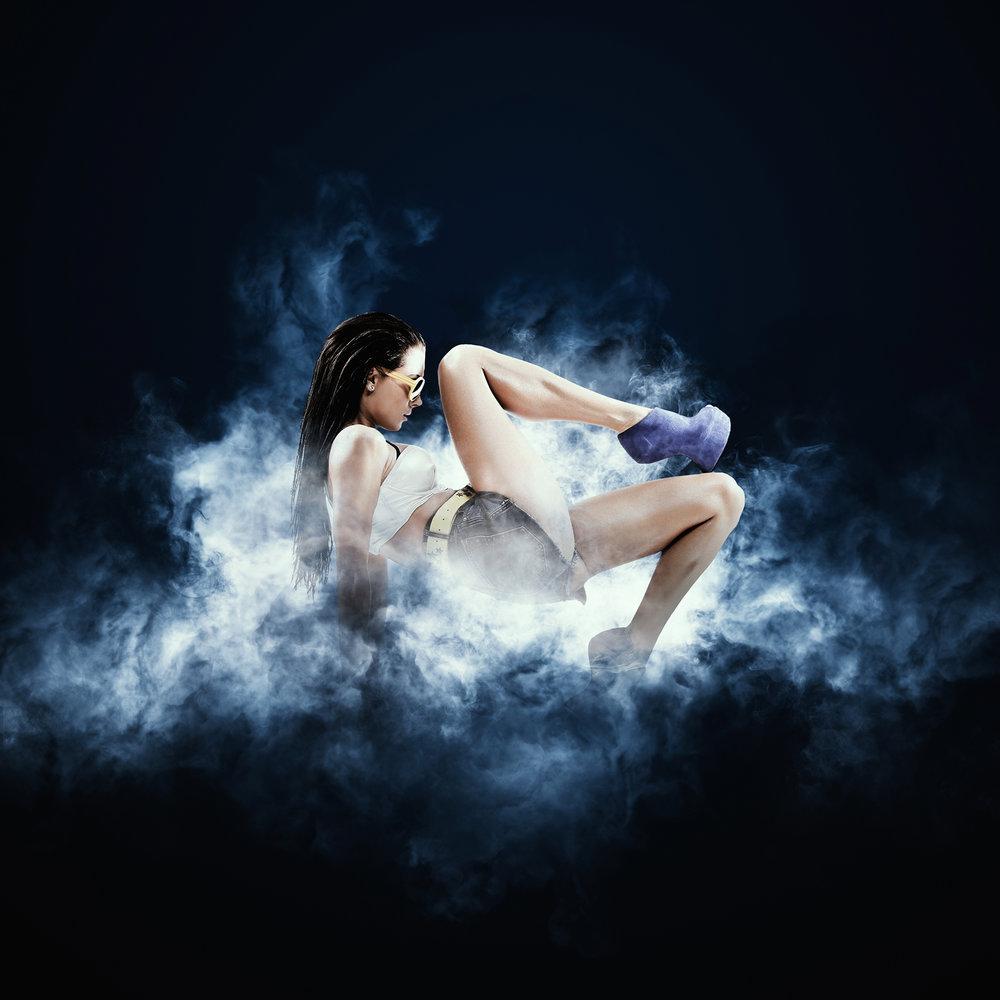 smoke photoshop