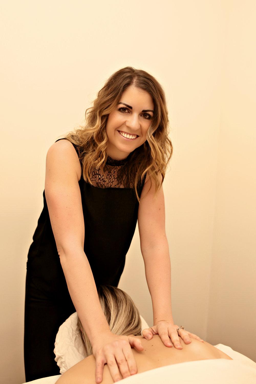 Carly Unwin - Registered Massage Therapist