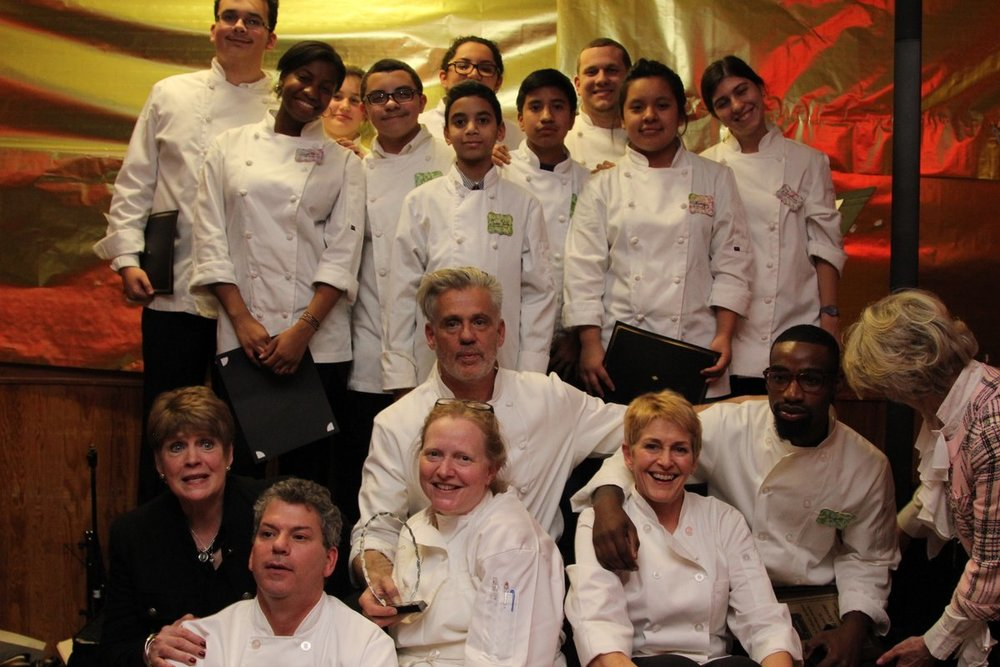 Kids and Chef Paul Ascension Culinary Institute NYC.jpeg