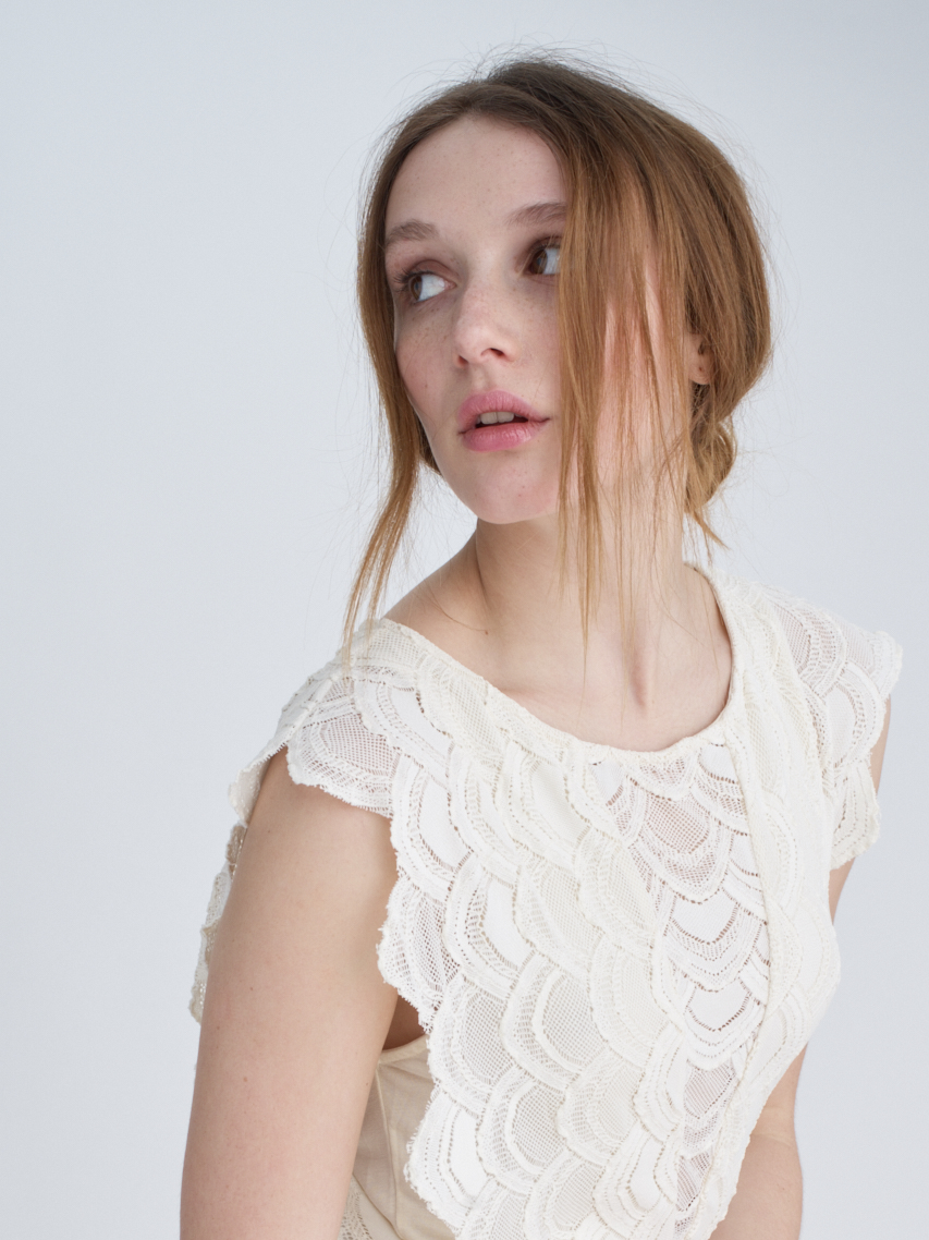 Copy of White lace dress