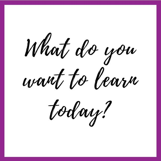 One thing I know is we can definitely improve ourselves by learning something new everyday. Hey, knowledge can't be taken from us by anyone... EVER!  What do YOU want to learn today?  Ending this work week with a question (again)! So excited to know the things you want to learn! . . . . . . . #knowledge #growth #knowledgeispower #questionsoflife #questionsthatneedanswers #womenwithambition #dailymotivator #knowledgeisthekey #selfimprovement