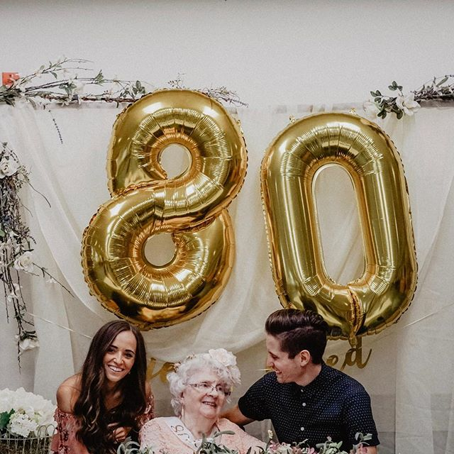 """Today, Gramma wheeled around saying, """"This is what 80 looks like!"""" She's not humble at all 😂✨ ⠀⠀⠀⠀⠀⠀⠀⠀⠀ I spell it wrong on purpose because I'm the first grandchild and I always thought that was right. She picked out my name and committed to living on faith with 4 kids when God called my grandfather to leave his """"good"""" job and go into full-time ministry. She said He told them separately, so she already knew. ⠀⠀⠀⠀⠀⠀⠀⠀⠀ She went to college on an 8th grade education and when my grandfather died she went back to seminary to become a pastor and a hospital chaplain. ⠀⠀⠀⠀⠀⠀⠀⠀⠀ She tells stories of talking to the Holy Spirit, casting out demons in the night, the exact amount of money they needed showing up in the mailbox unexpectedly, and talking people through taking Jesus' hand in their final moments. ⠀⠀⠀⠀⠀⠀⠀⠀⠀ Her husband's been with Jesus for 30 years and she still loves and misses him desperately. ⠀⠀⠀⠀⠀⠀⠀⠀⠀ She talks all the time about wanting to take another job at a church to pastor. Instead, she prays over meals and other residents in the nursing home where she lives. We've stopped trying to """"set her straight"""" on the topic because we've realized that we hope we have half of her faith and ambition when we're her age. ⠀⠀⠀⠀⠀⠀⠀⠀⠀ She and I have always shared a love for making greeting cards and talking about deep spiritual things like death. The more I think about who she is, the more I understand why I am who I am and even more of who I want to be. ⠀⠀⠀⠀⠀⠀⠀⠀⠀ (I still think she's also the weirdest Gramma in the world who embarrassed us by wearing the biggest sunglasses and country line-dancing as a hobby when we were growing up 🤣) ⠀⠀⠀⠀⠀⠀⠀⠀⠀ But really, this is legacy. I'm so thankful to come from a line of believers who went against what """"normal life"""" """"should be"""" (all the air quotes) in pursuit of whatever life God had in store for them. ⠀⠀⠀⠀⠀⠀⠀⠀⠀ Who's paved the way for you? ⠀⠀⠀⠀⠀⠀⠀⠀⠀ 🌹noel"""