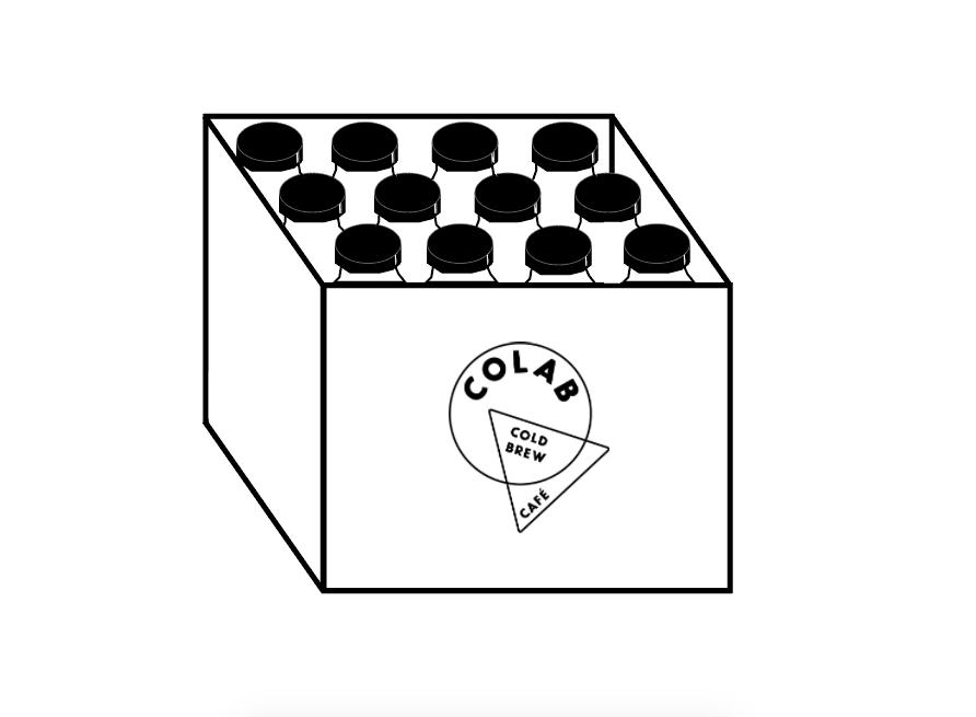 12-pack de Cold Brew - 12 botellas de cold brew listo para beber$600 ($50 cada botella)Entregas gratis en la CDMX⇨ comprar con tarjeta / Paypal⇨ comprar por deposito