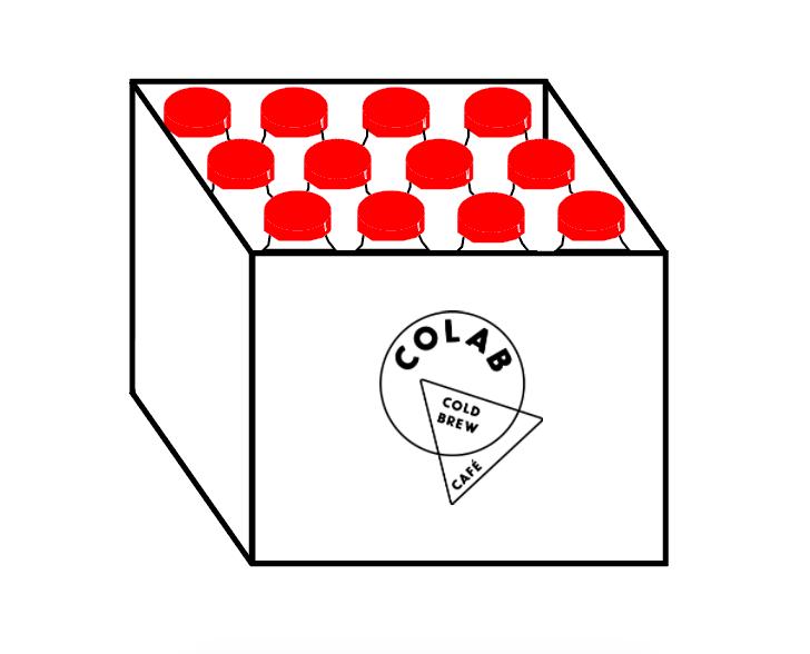 Caja de Cold Brew Concentrado - Caja de 12 botellas de concentrado (3L en total)$1000 ($85 cada botella... con un poquito de descuento)Entregas gratis en la CDMX⇨ comprar con tarjeta / Paypal⇨ comprar por deposito