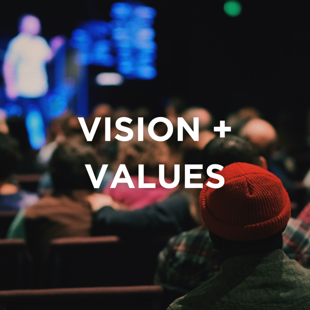 VISION + VALUES