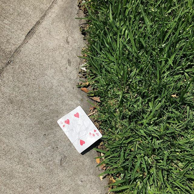Is THIS your card? #tada #streetmagic
