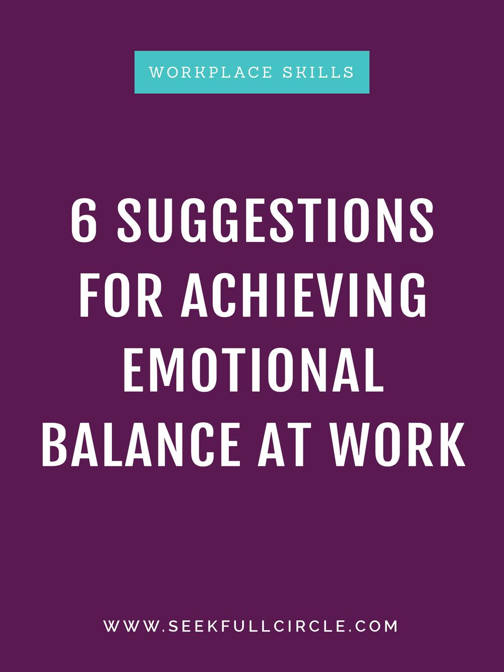 fullcircle creative + coaching emotional balance EQ blog