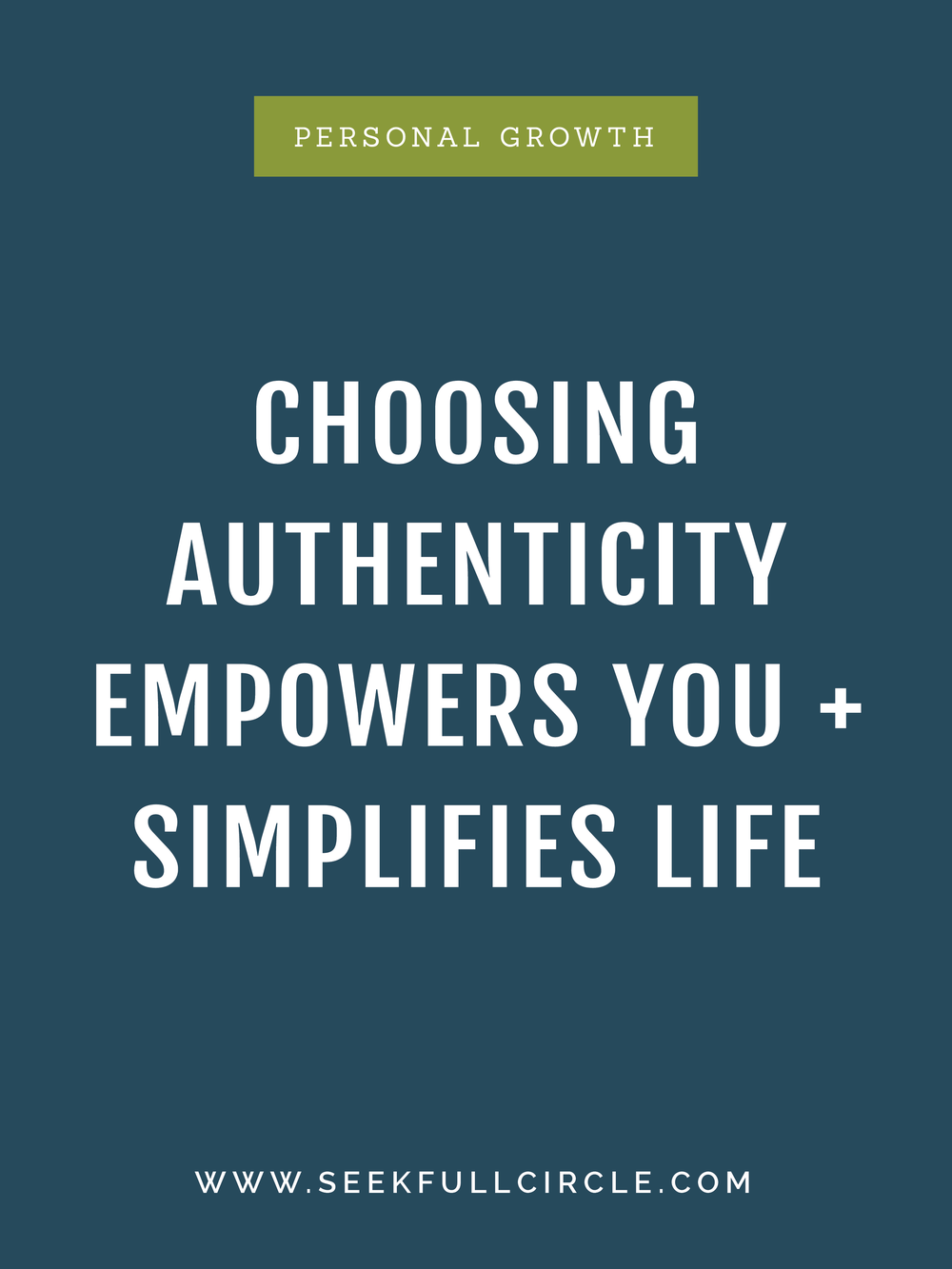 kim waltman fullcircle creative + coaching authenticity blog