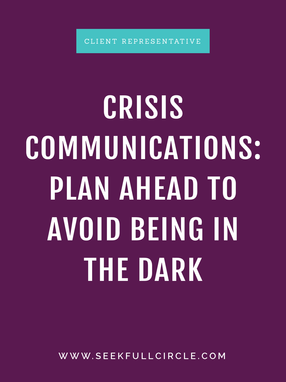 kim waltman fullcircle creative + coaching crisis communications blog