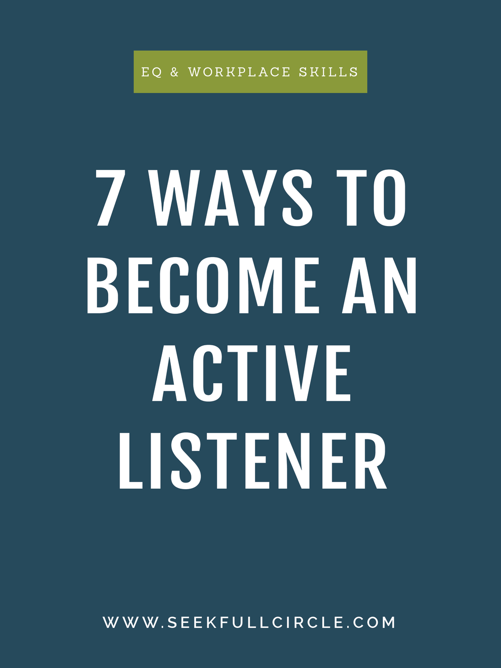 how to become an active listener blog kim waltman fullcircle creative + coaching