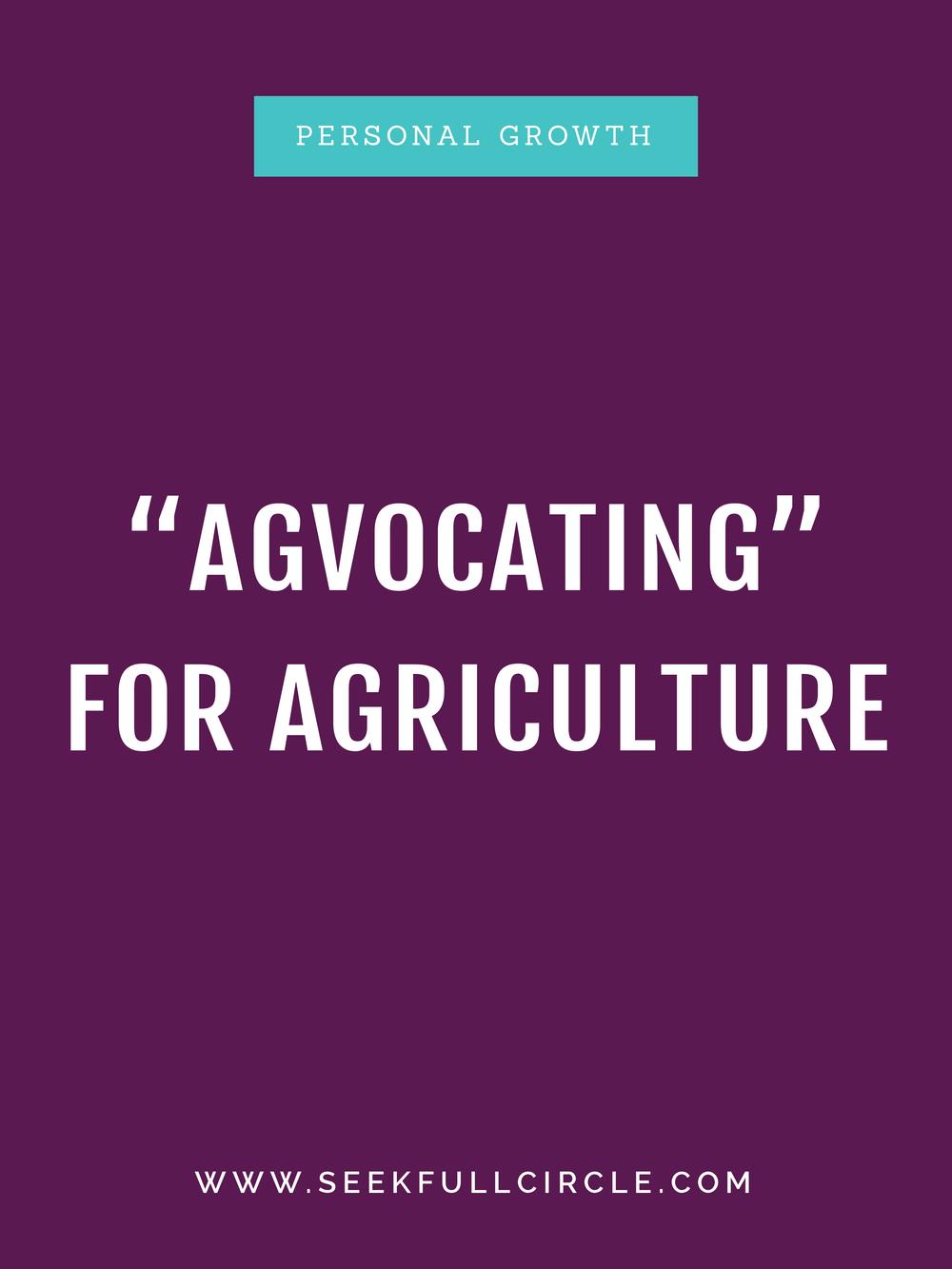 kim waltman advocating agriculture blog