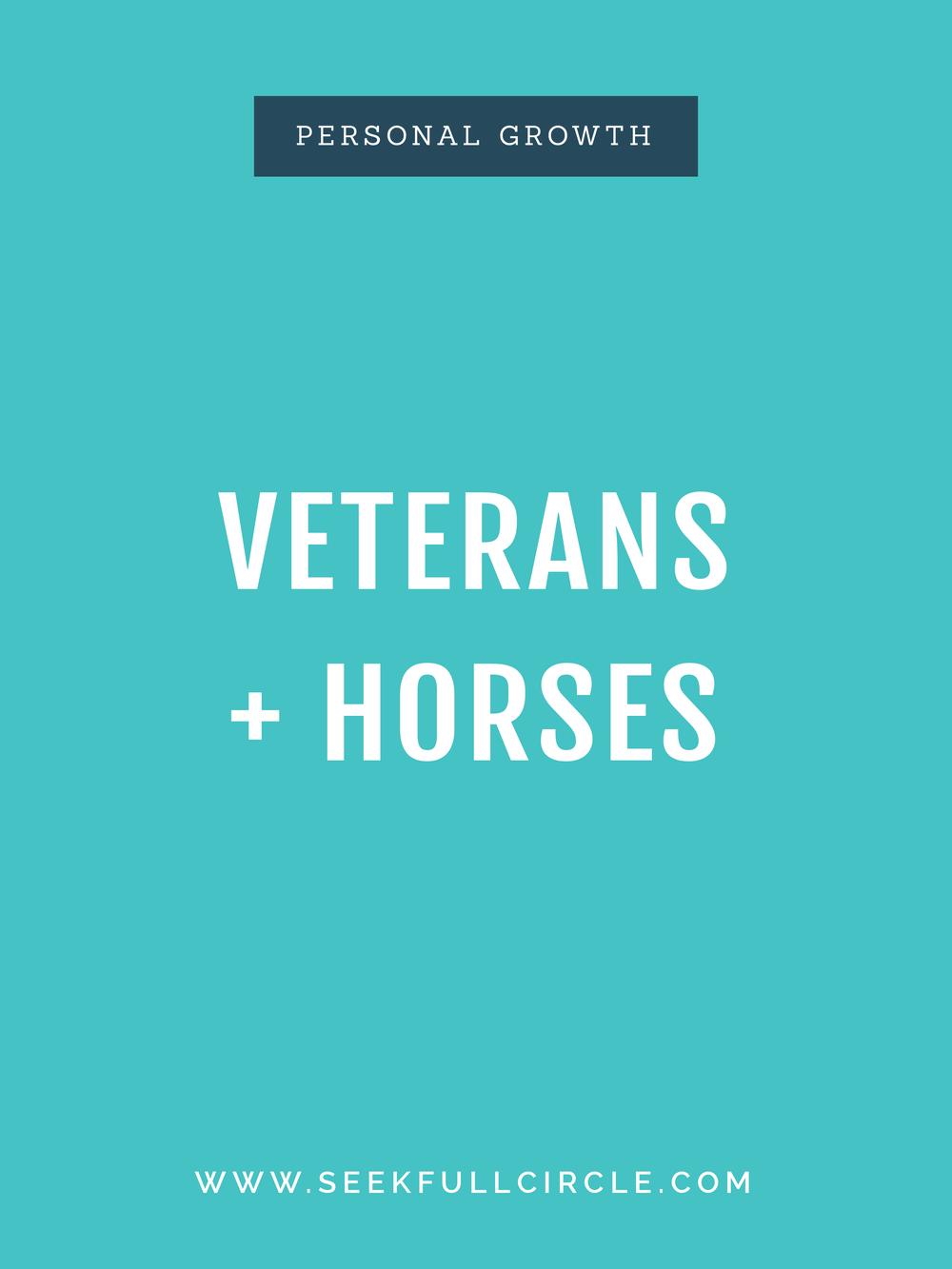 kim waltman fullcircle creative + coaching veterans horses blog