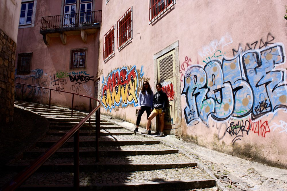 Maybe make your own street art in Sintra?  @lovethealchemist