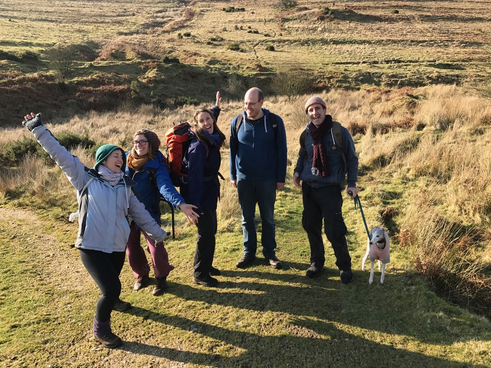 Guided Walks & Tours - Experienced and qualified guides will help individuals and groups to explore the hidden jewels of Dartmoor. We have knowledge and routes to suit whatever your interest or ability level - flora and fauna, archaeological and historical, ancient and sacred sites, myths and legends, long hikes off the beaten track or gentle paced routes.