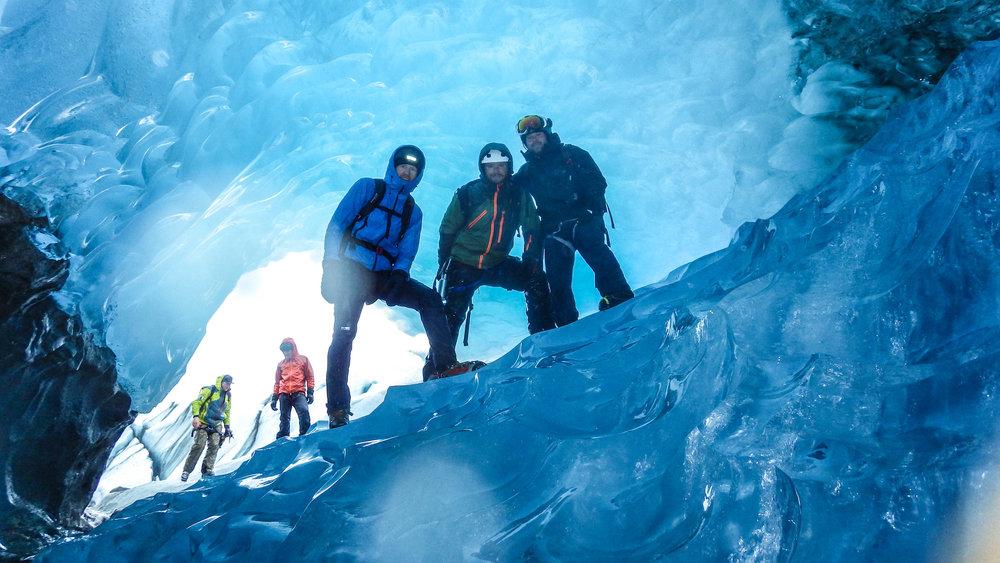 Beautiful worm at Sheridan Glacier Alaska