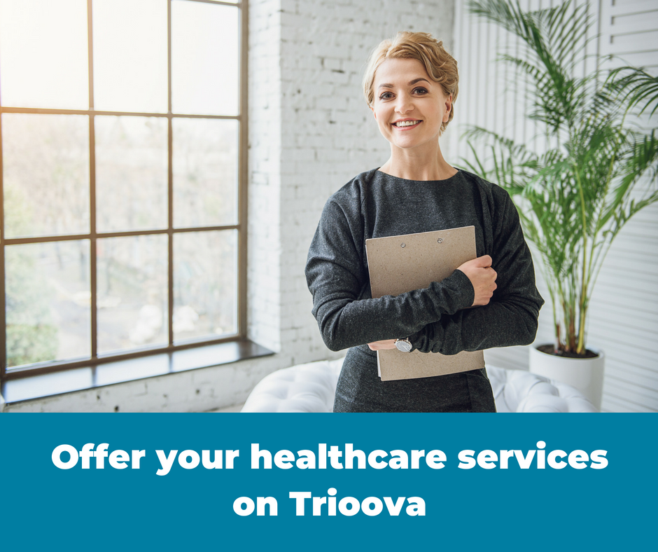 Run your healthcare business on Trioova. Health entrepreneurs can manage appointments, take bookings, receive referrals and manage file storage all in one place. Communicate with your patients and clients, message one-on-one and in groups, create care circles, engage caregivers, share files and collaborate with other providers. Professional referral networking available!