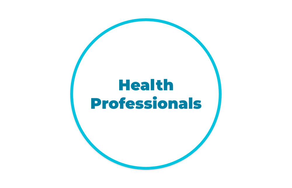 Nurse Practitioners; Registered Nurses; Registered Dietitians; Psychologists; Social Workers; Psychotherapists; Mental Health Therapists; Physiotherapists; Occupational Therapists; Chiropractors; Massage Therapists; Acupuncturists; Speech-Language Therapists; Clinical Pharmacists; Doulas; Midwives; Specialized Health Professionals (i.e. Addiction Specialists and Cannabis Consultants); Nutritionists; Holistic Nutritionists; Kinesiologists; Personal Trainers; Yoga Instructors