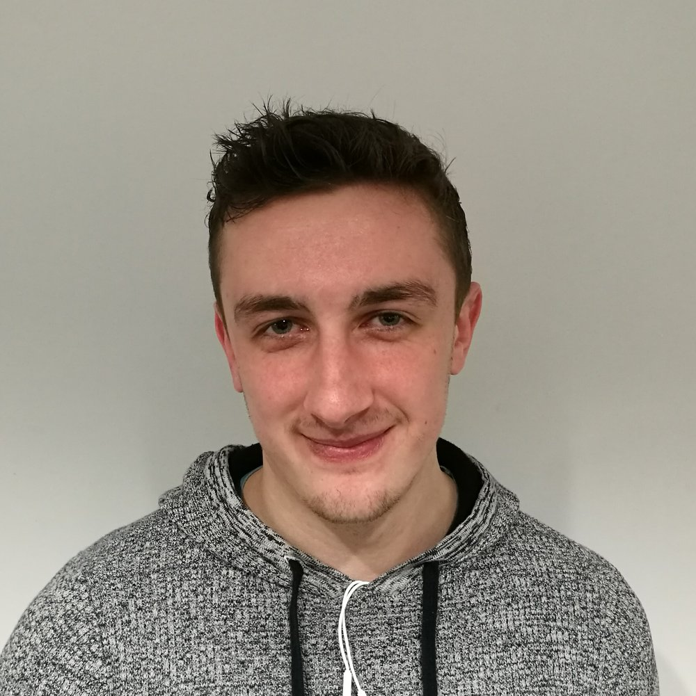 Jackson joined from Trinity Collage Dublin in 2016/2017, where he completed his MAI in Biomedical Engineering