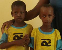 ASSANA AND FOUSSENI, Children, Education, Poverty