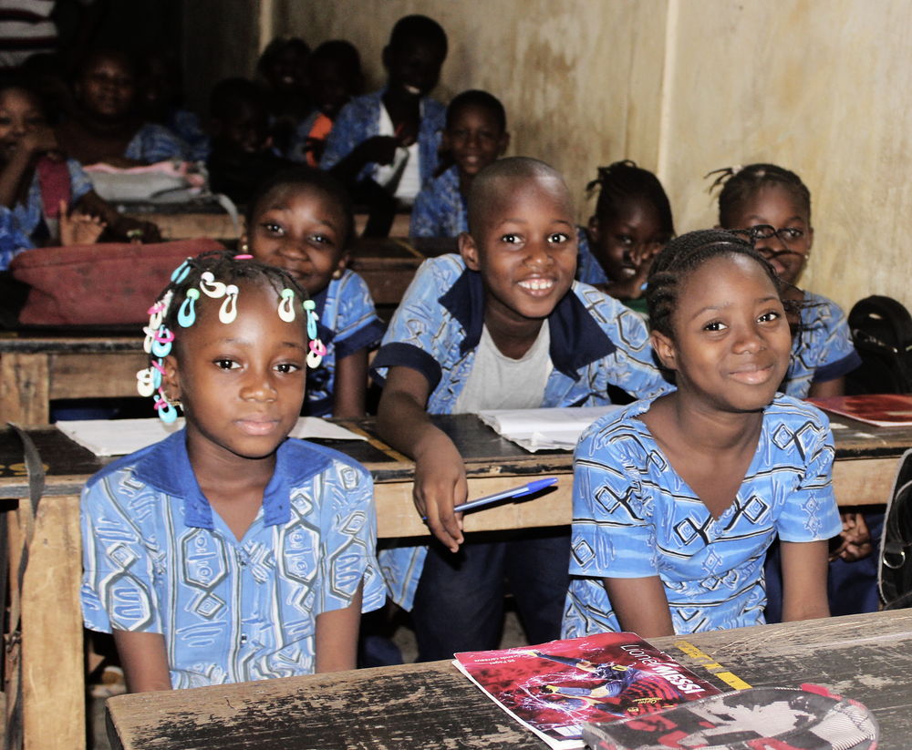 Children in Malian Classroom, Education, Empowerment