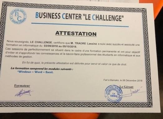 Certificate for Lassine computer training.jpg