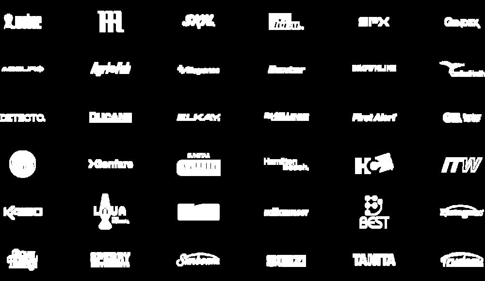 CHOi Design client logos