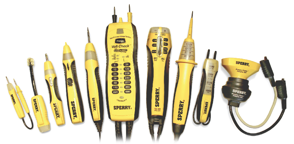 Sperry Electrician Tools Lineup
