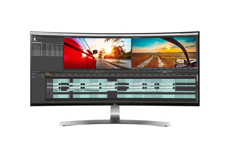 LG 21:9 UltraWide® Full HD IPS Curved LED Gaming Monitor with G-SYNC™