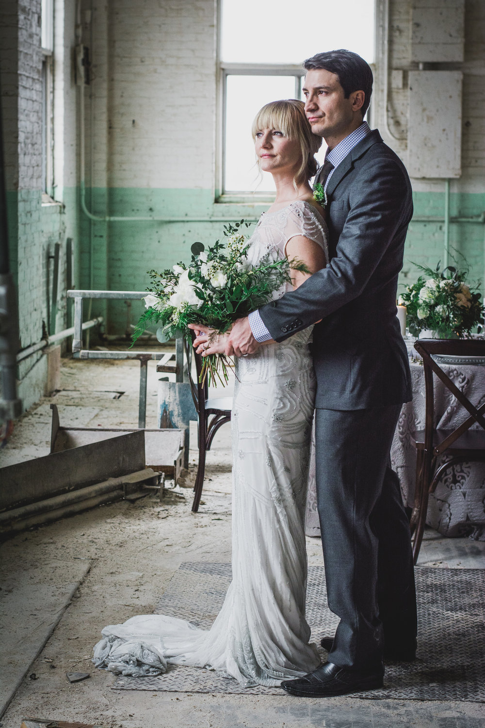 Event Planner Winnipeg Green and Grey Bridal Inspiration