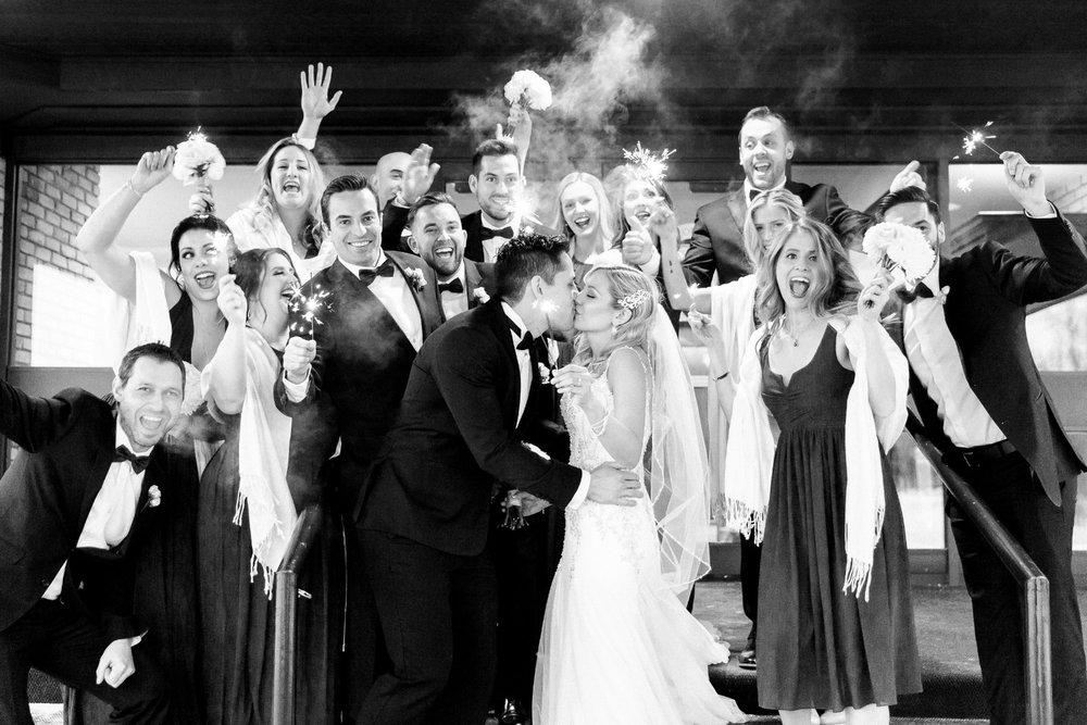 Jocelyn & Stephane's Memorable Winter Wedding