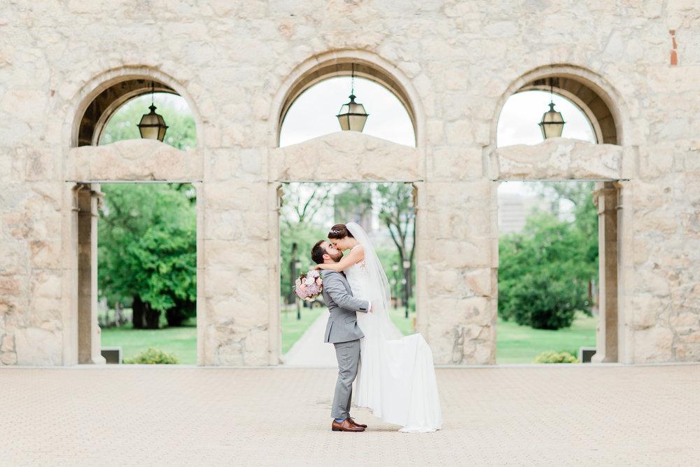 Marta & Alex's Beautiful Fort Garry Wedding