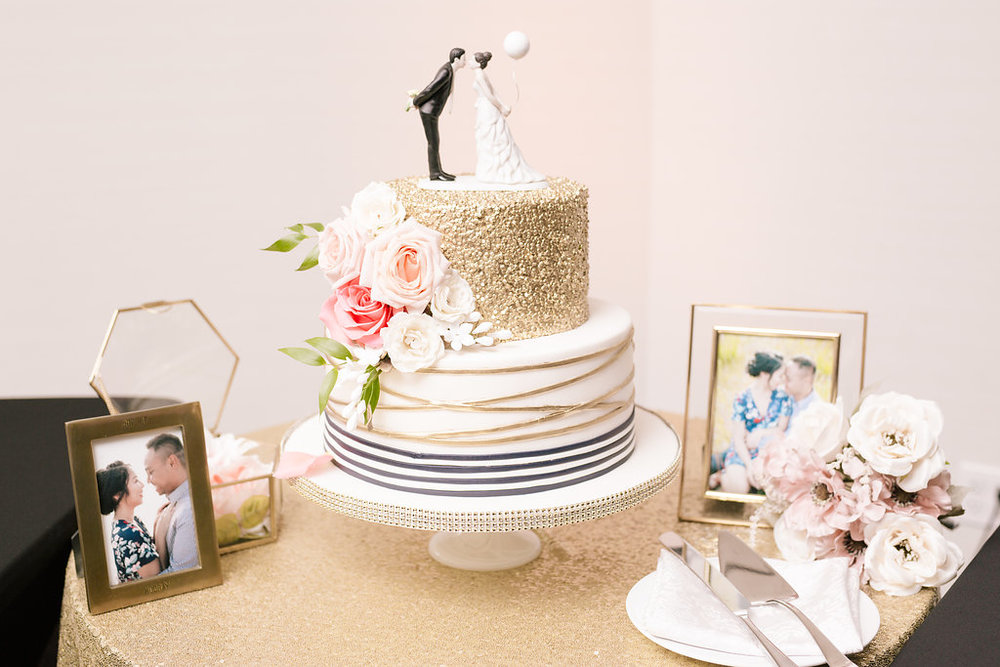 Cutest cake by Sugar Blooms and Cakes