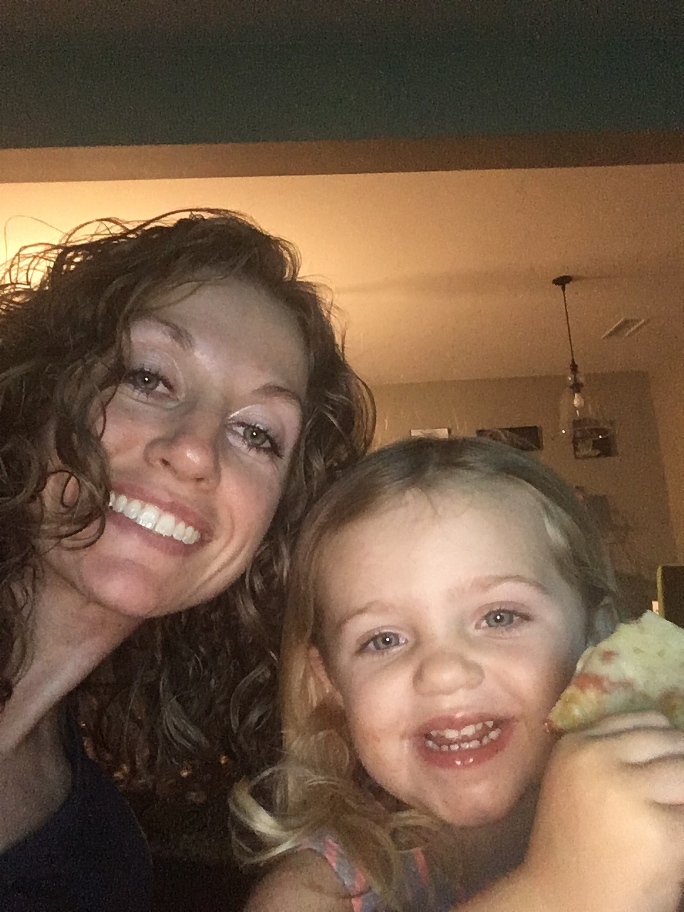 Pizza night selfie!