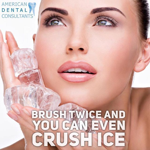 Brush twice and you can even crush ice. For inquiries call/text us TODAY 617-991-7717 ______________________________ #emergency #Malden #Boston #smiles #care #teeth #tooth #extraction #oralsurgery #dental #dentist #dentistry  #emergency #toothpaste #summer #botox #poster #smilemore #quotes #implants #hatıra #braces #بوسطن