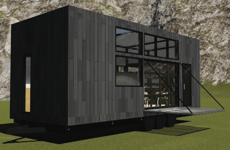 Steelgenix   Stealth Microhome