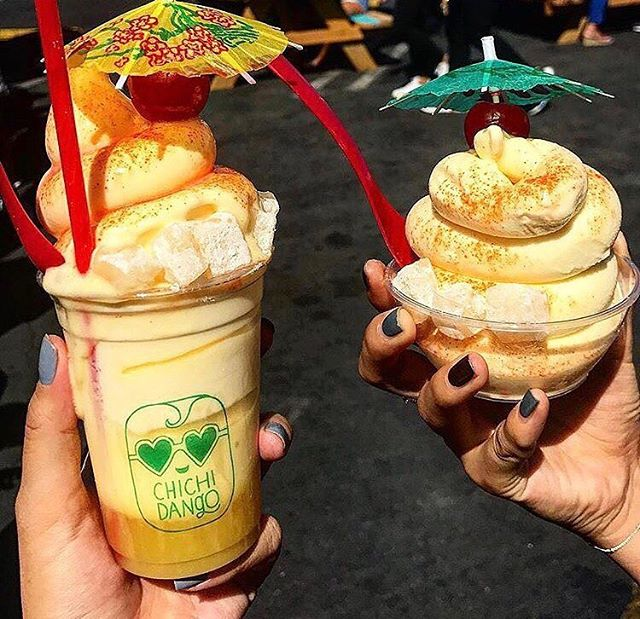 Happy Father's Day to all of the dads out there! Instead of getting him a tie, come treat dad to some Dole Whip with us at Smorgasburg 😋 #thechichidango #smorgasburgla 📷 @graeats