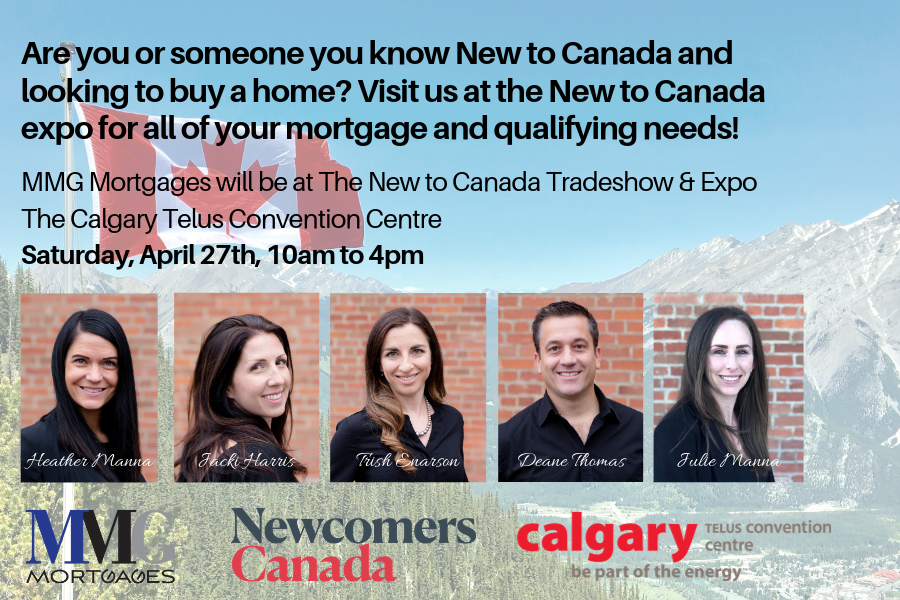 New to Canada? - Are you or someone you know New to Canada and looking to buy a home? Visit us at the New to Canada expo for all of your mortgage and qualifying needs!Join us on April 27th between 10am and 4pmStop by our booth and say hi!!#MortgagesMadeEasy