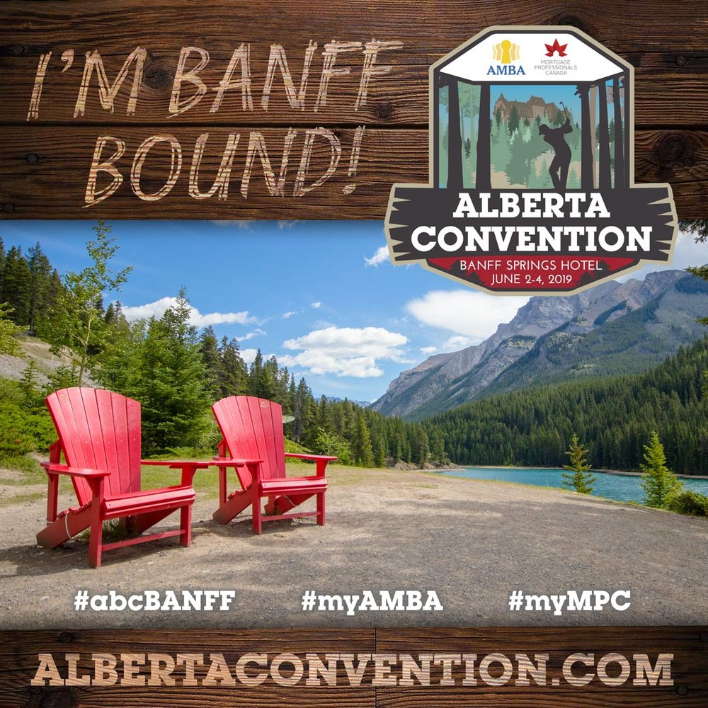 We're Banff Bound! - MMG Brokers are always up for any excuse to learn and grow in the industry!We are thrilled to be attending the mortgage brokers event of the year!! With an amazing lineup of speakers, educational sessions, and more – The 2019 Alberta Convention at the gorgeous Fairmont Banff Springs Hotel is where we want to be! June 2-4, 2019. Are you attending the conference?#abcBanff #myAMBA #myMPC #YouBelongInBanff #strongertogether
