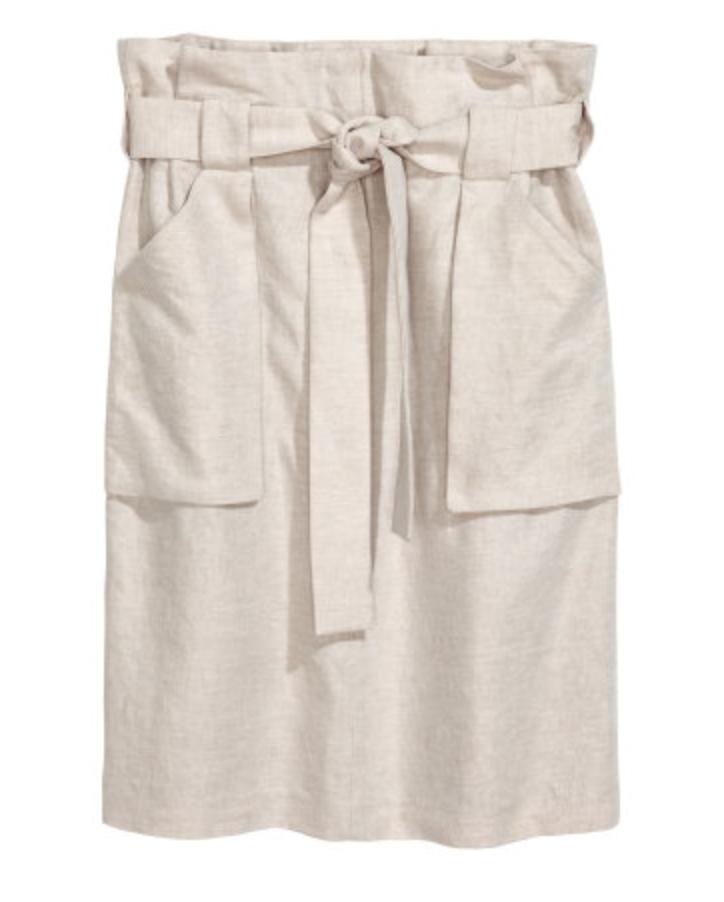 Cargo skirt $34.99