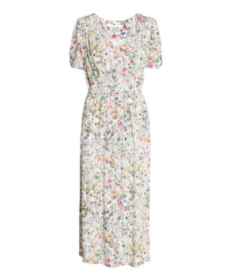 Floral dress $49.99