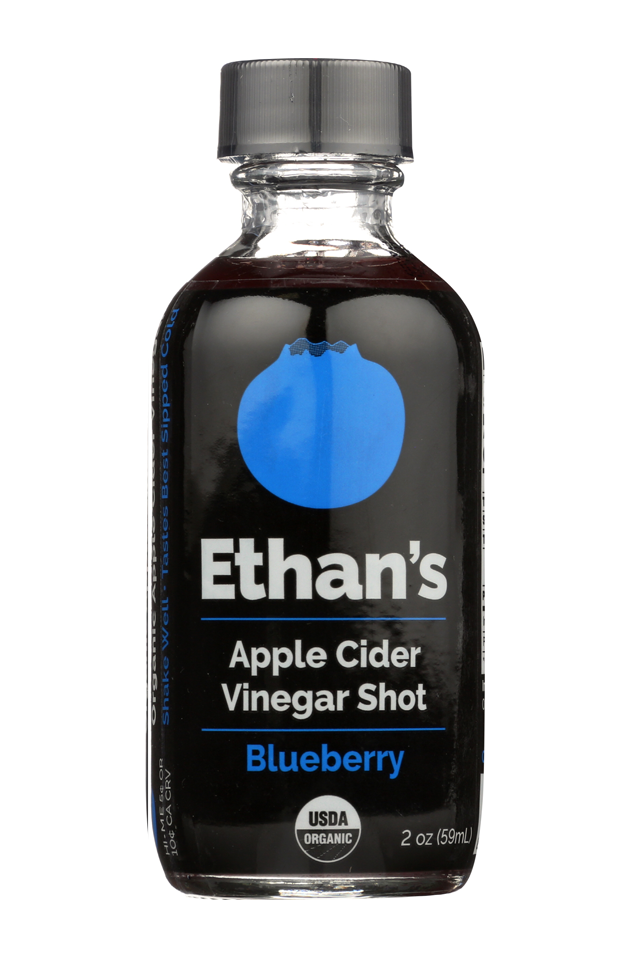 BLUEBERRY - Fruit, vinegar, and honey. A classic combination with a very new look, this antioxidant-packed blend is sweet and tart in all the right places. Organic Washington State blueberries, organic Yucatan honey, and 4 teaspoons of our organic apple cider vinegar. Yum.