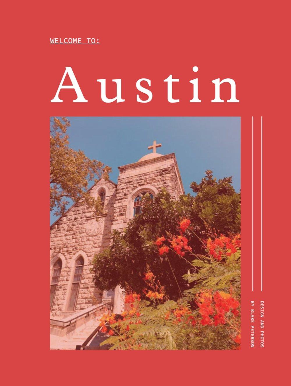 AUSTIN TRAVEL GUIDEINTERACTIVE PDF - E-DESIGN & PUBLISHING