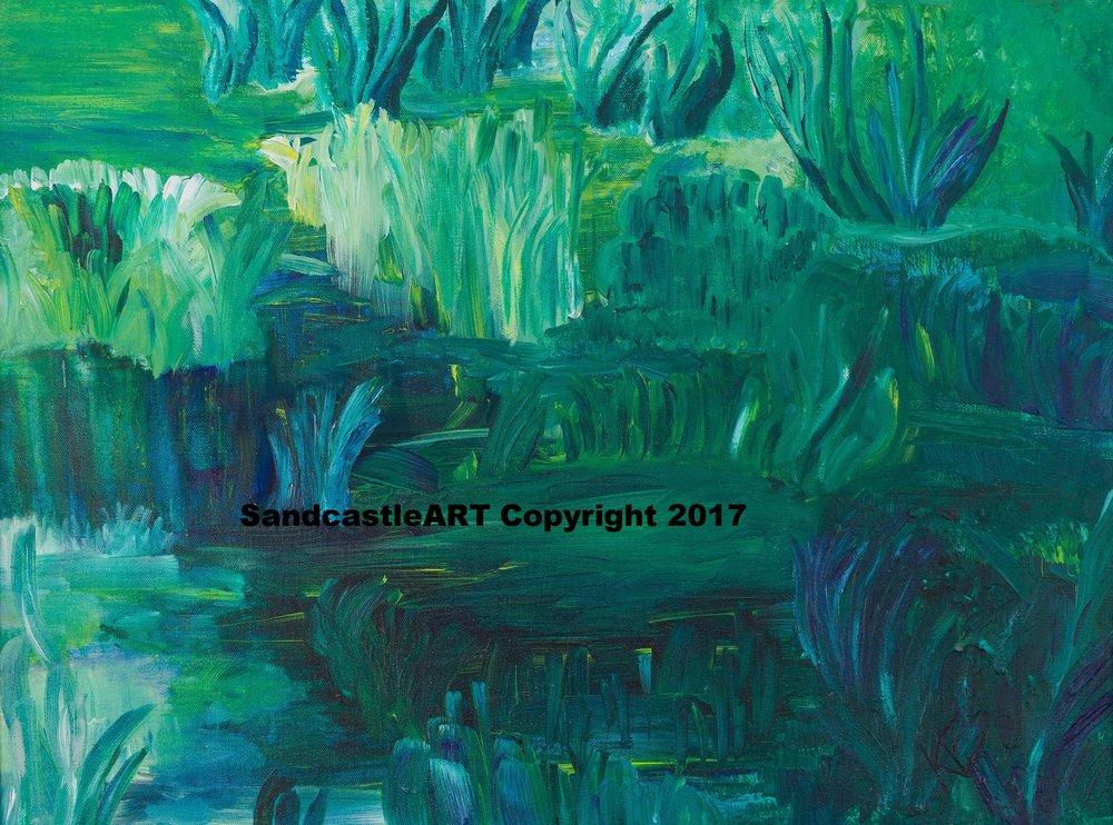 Gratitude Pond, Ode to Monet