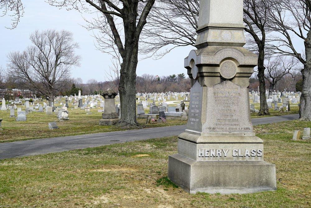 Photo: Fernwood Cemetery, Lansdowne, Pennsylvania.