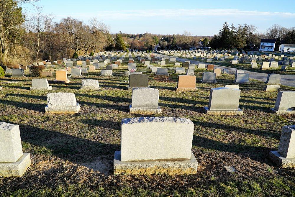 Mount Hope Cemetery. Aston, Pennsylvania. Well run. Non-profit. Burial lots still available.
