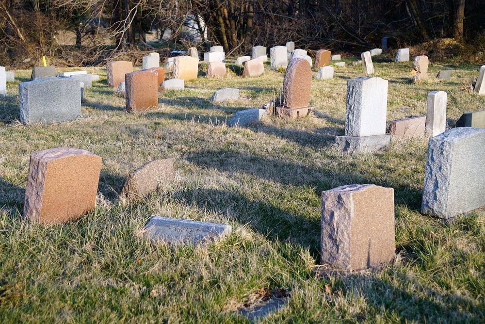 Green Lawn Cemetery in Chester Township, Pennsylvania has no money and no official caretaker.