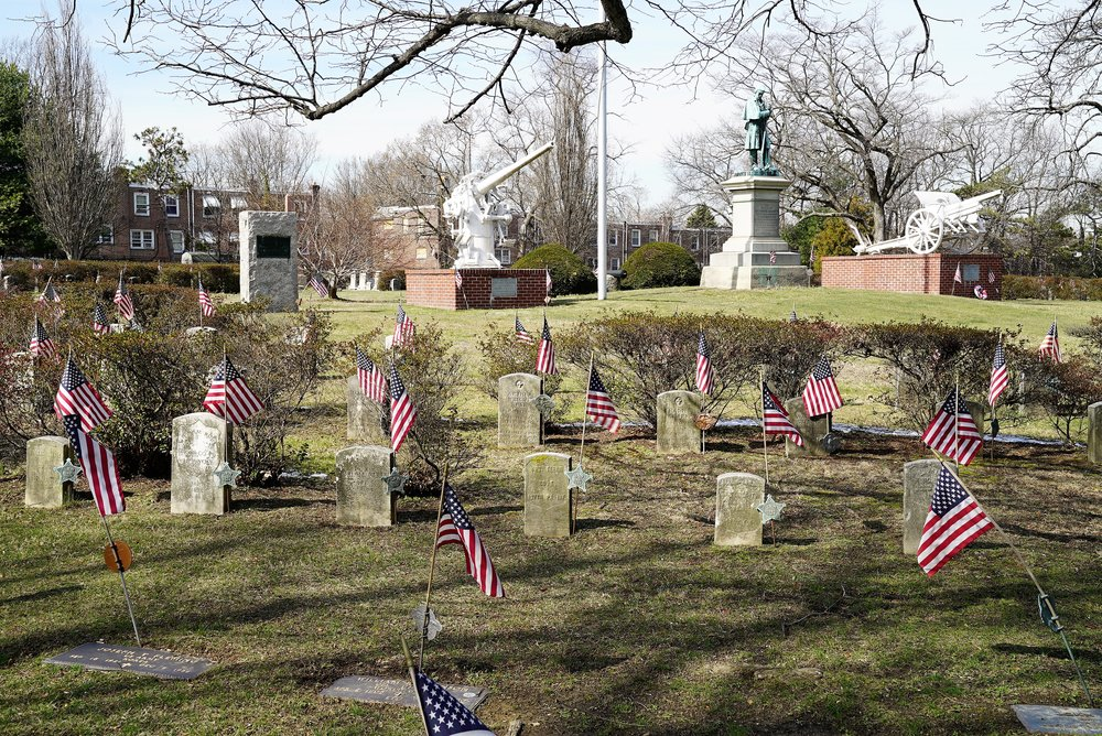 Photo: Chester Rural Cemetery in Chester, Pennsylvania. The hidden gem of Chester.